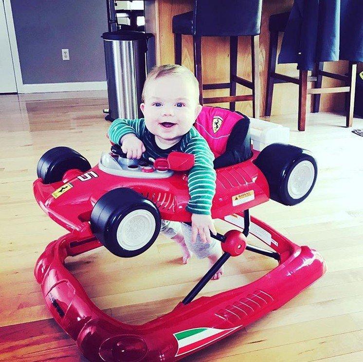 Best Combi Ferrari F1 Foldable Baby Walker Review