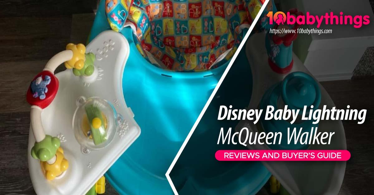 Disney Baby Lightning McQueen Walker