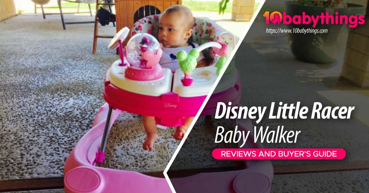 Disney Little Racer Baby Walker