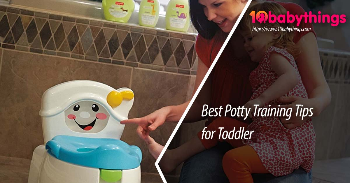 Best Potty Training Tips for Toddler