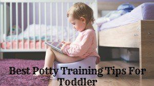 potty training tips for toddler