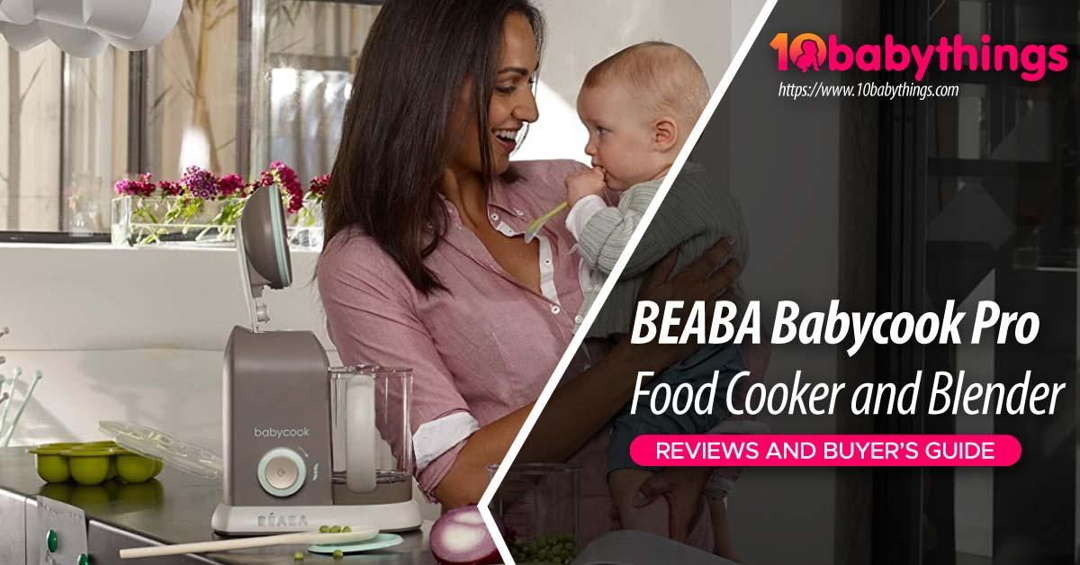 BEABA Babycook Pro Steam Cooker and Blender