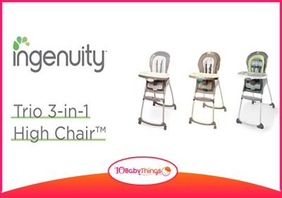 Ingenuity Trio 3-in-1 High Chair Review