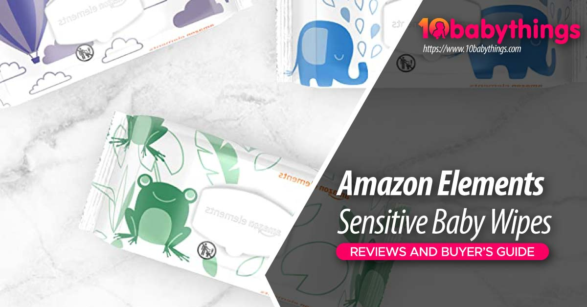 Amazon Elements Sensitive Baby Wipes