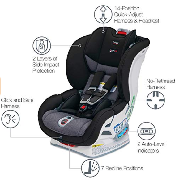 britax marathong clicktight car seat review