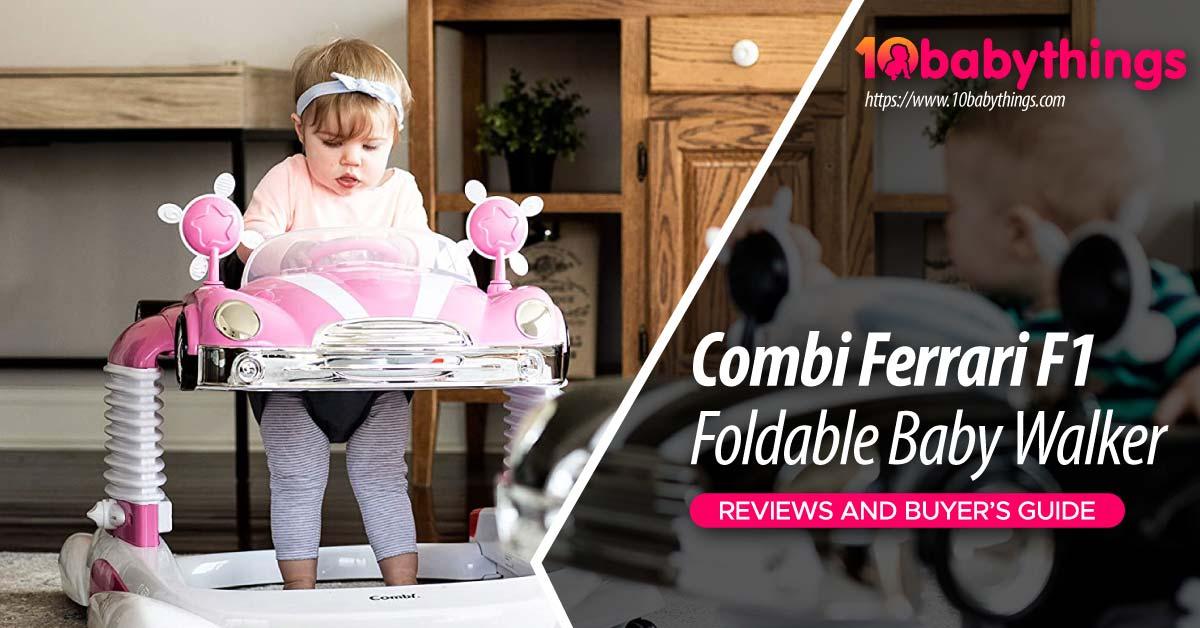 Combi Ferrari F1 Foldable Baby Walker