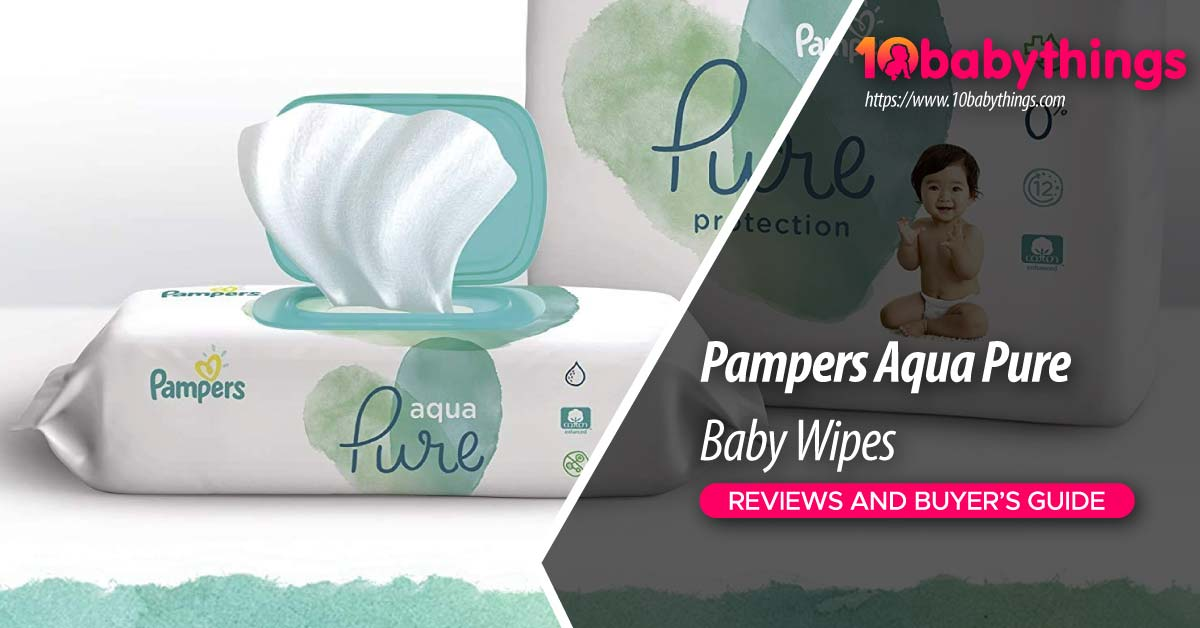 Pampers Aqua Pure Baby Wipes